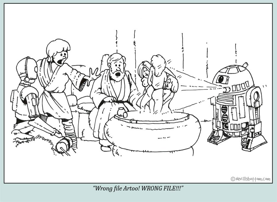 Wrong file Artoo!
