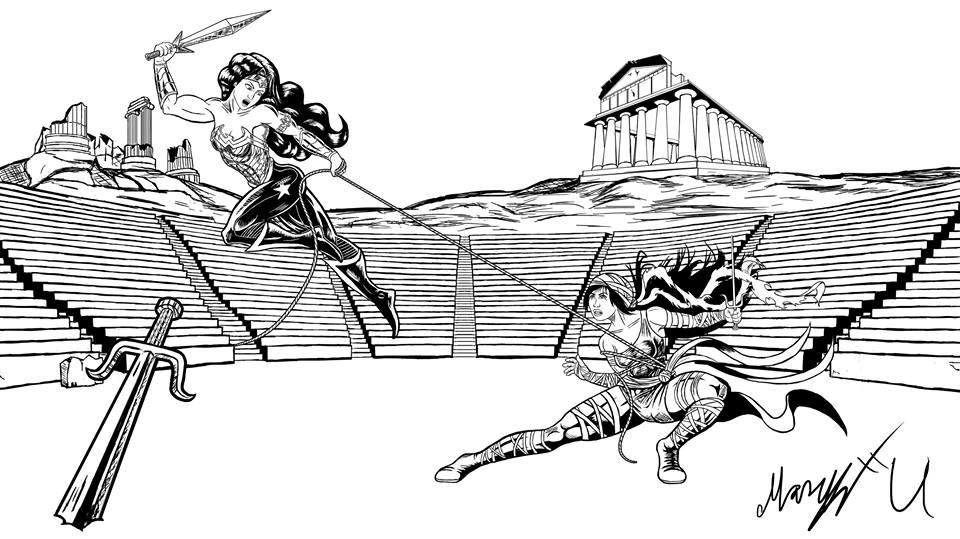 Greek Warriors Inked