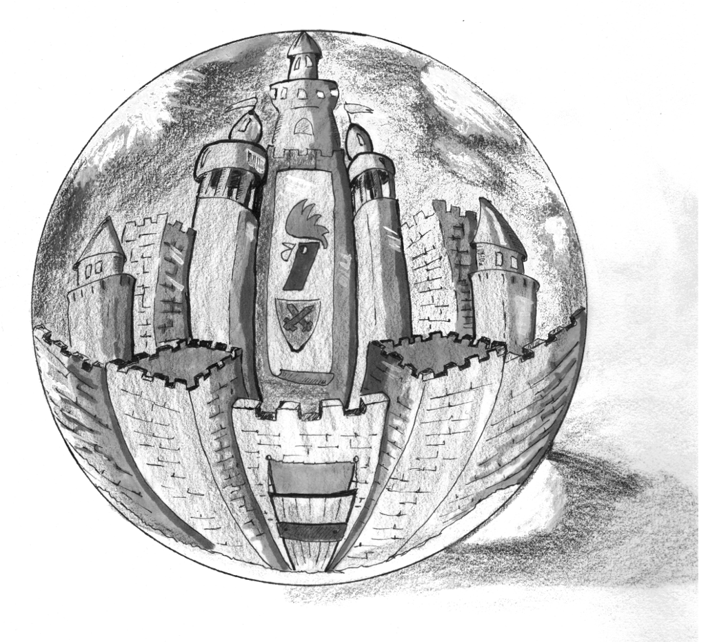 Castle in Crystal Ball