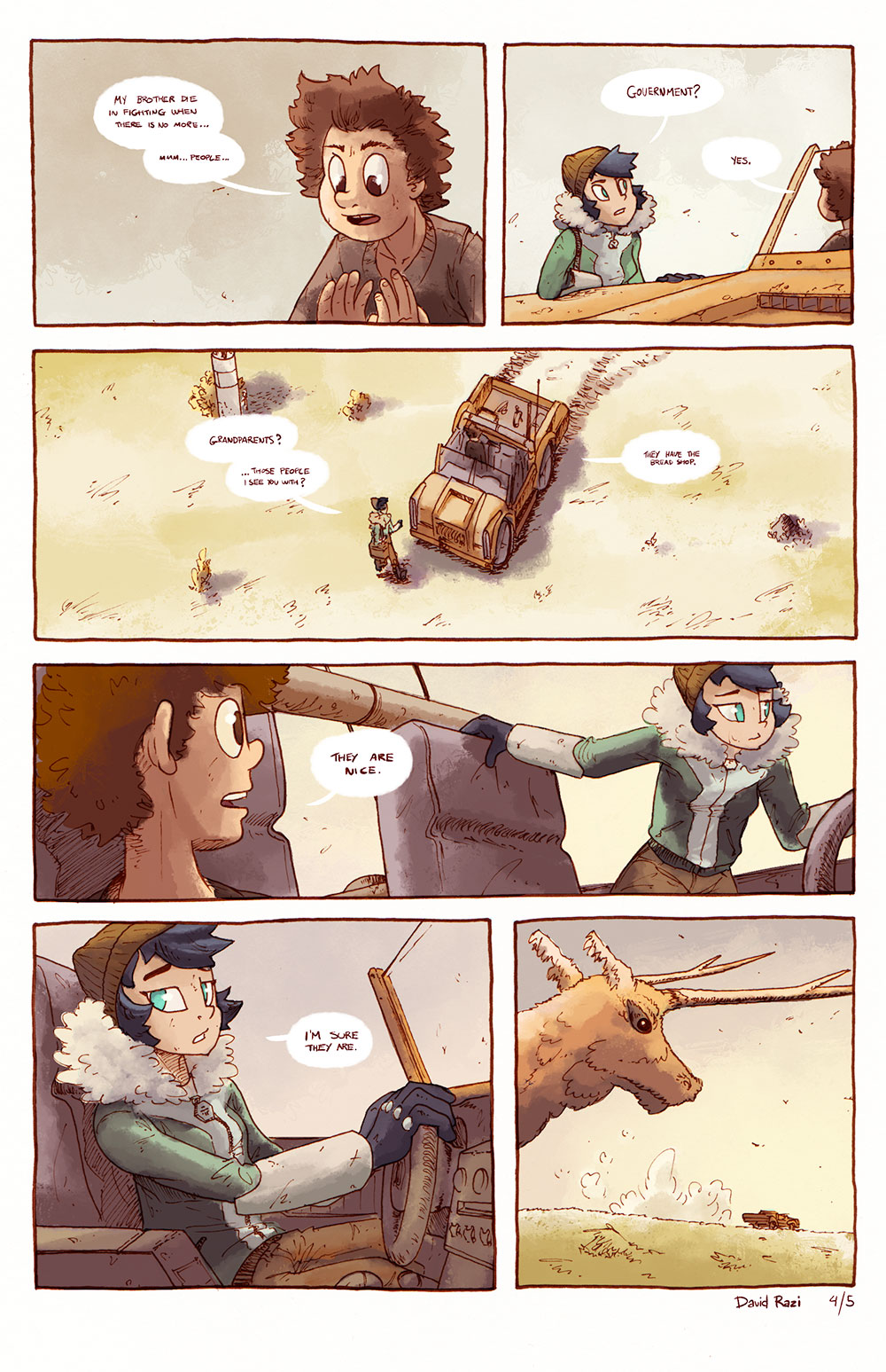 Maps Comics - Repairs 4/5
