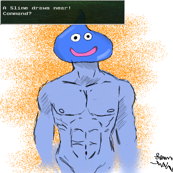 Swole Slime approaches!