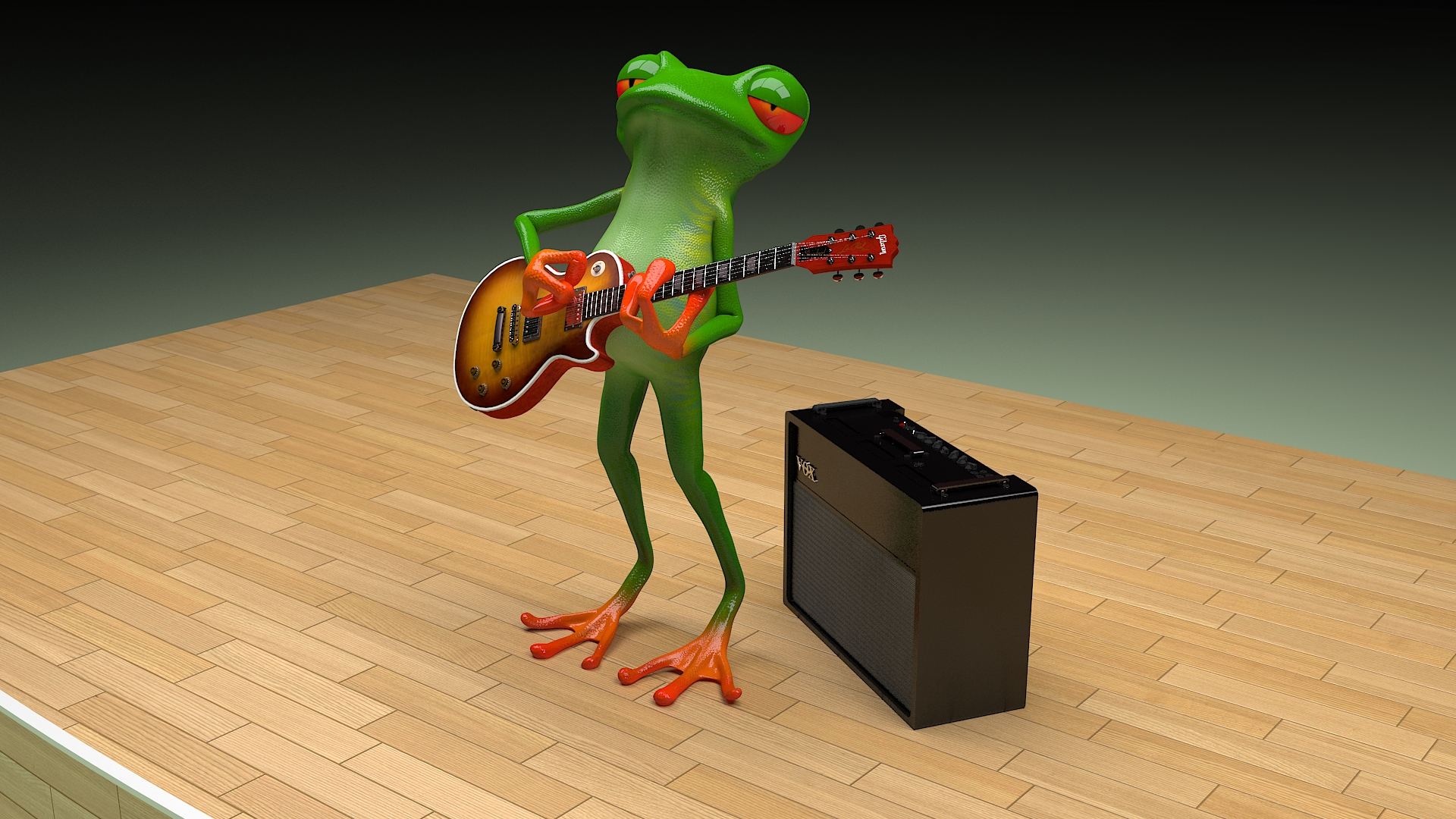 musician froggy