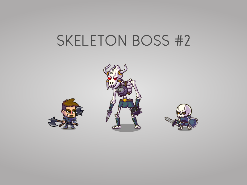 Skeleton Boss for my game