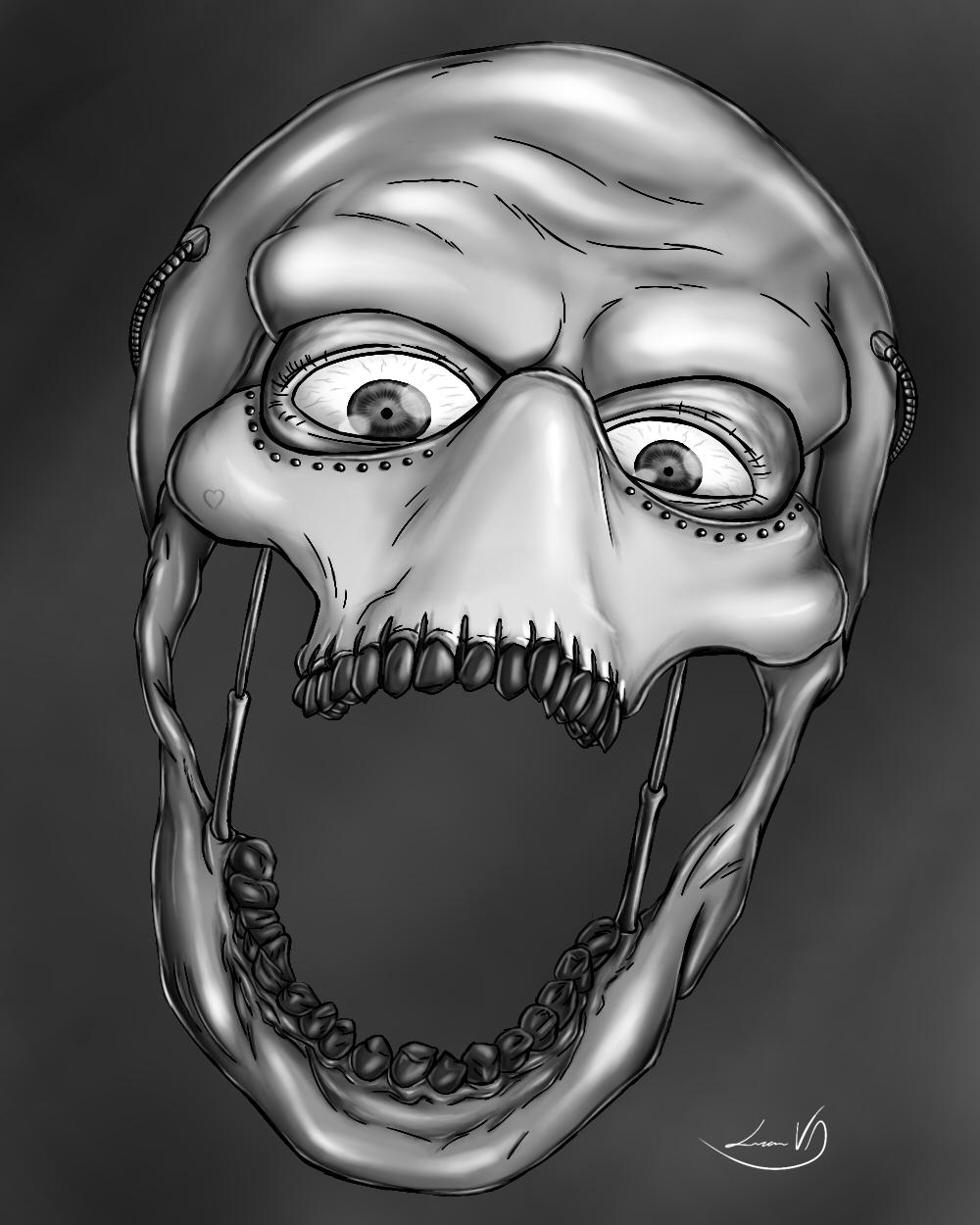 cyborgg skull