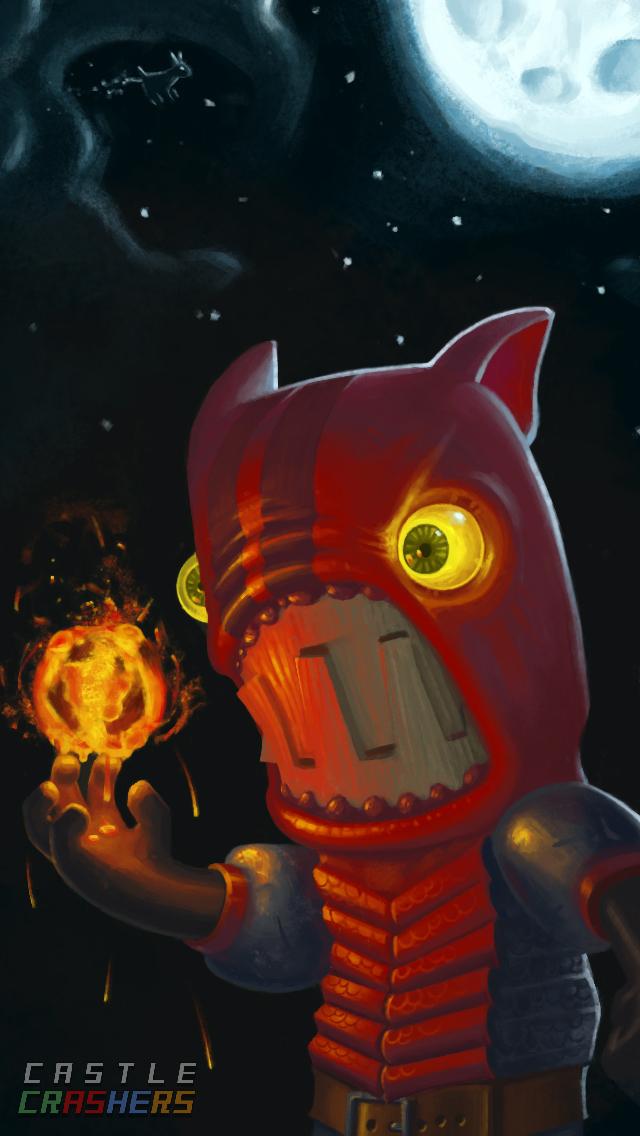 Fire Demon - Castle Crashers