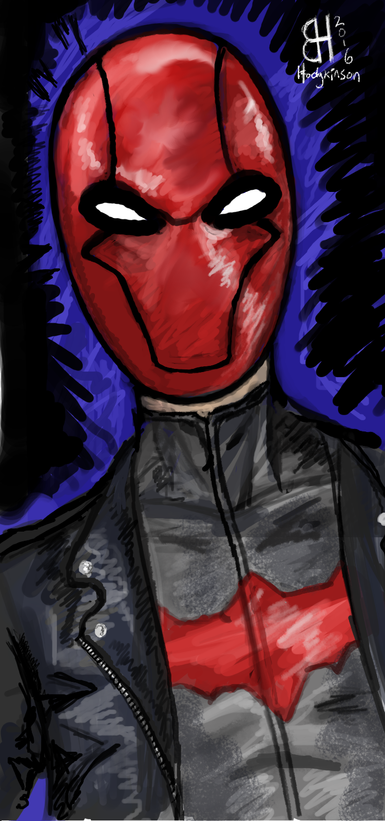 Red Hood Portrait