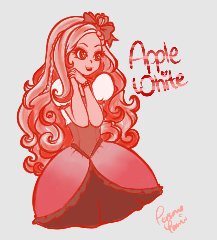 Red Apple White
