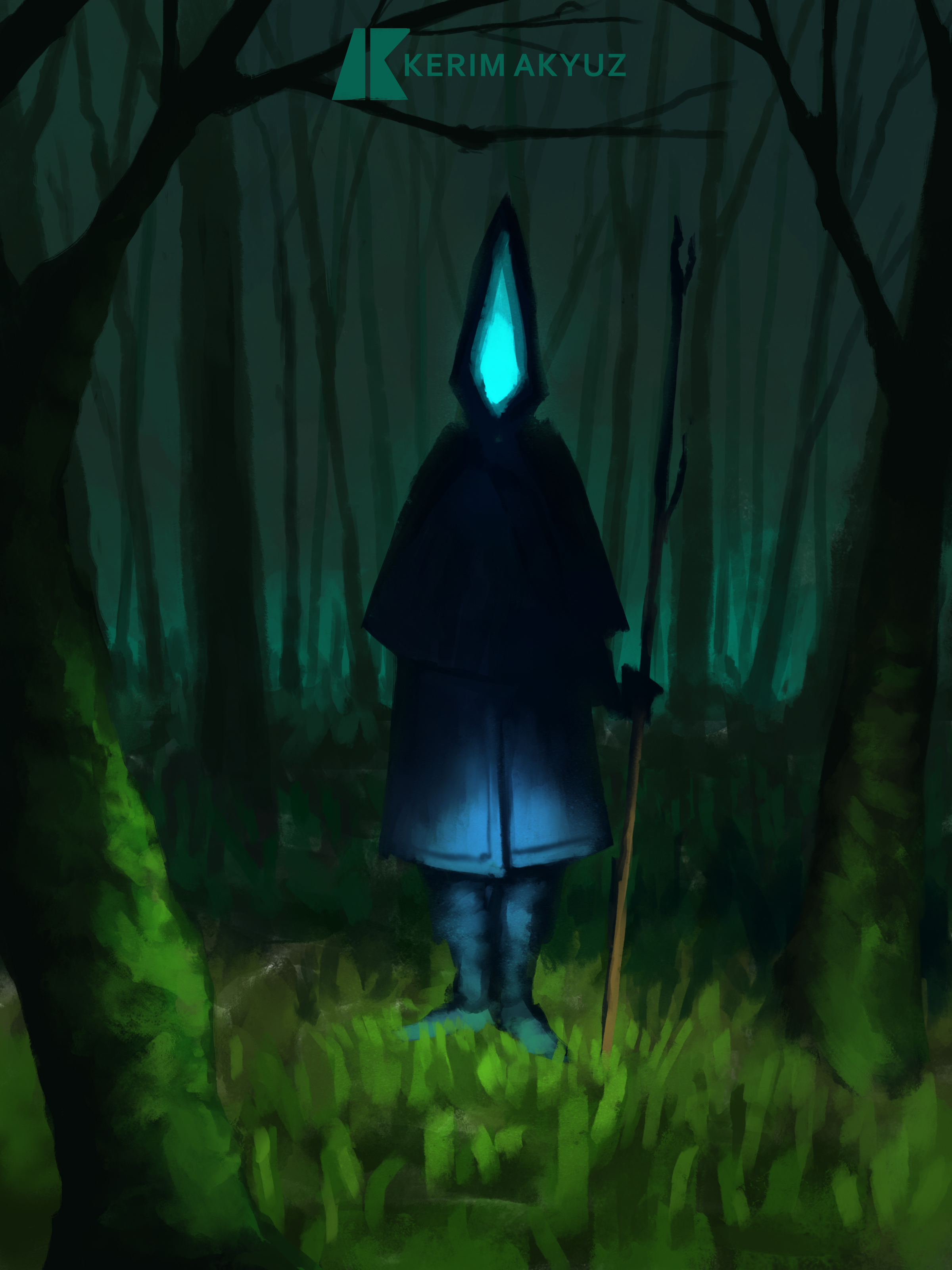 Daily Imagination #159 - Forest Watcher