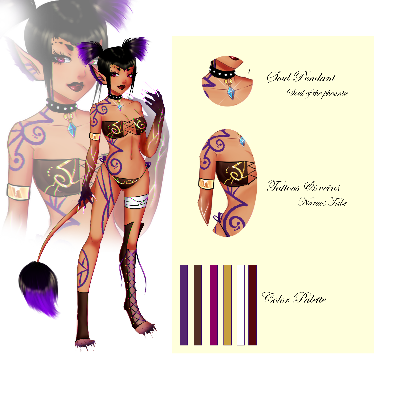 Female Valix - Dark Desert