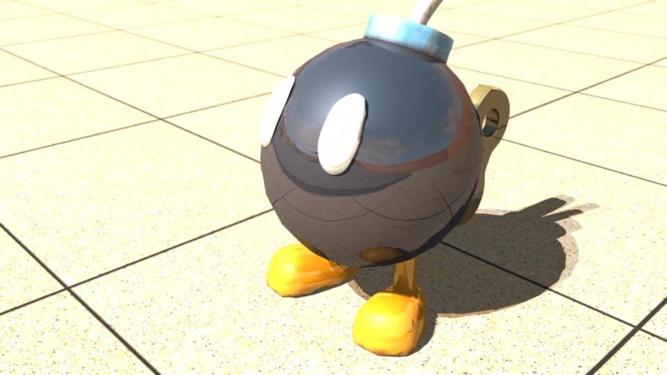 Render BoB omb Super Mario