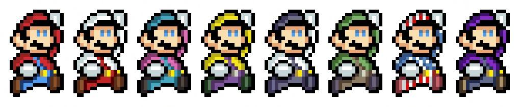 Mario's Alt. Pixels
