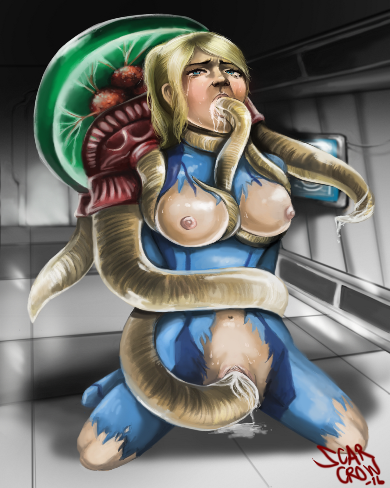 Samus and the metroidful trouble