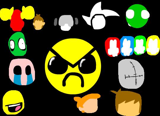 The Newground characters
