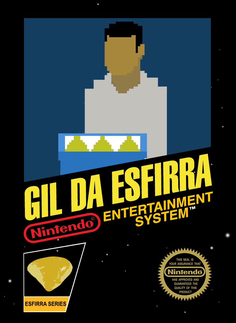 Gil Da Esfirra - NES Artwork Tribute