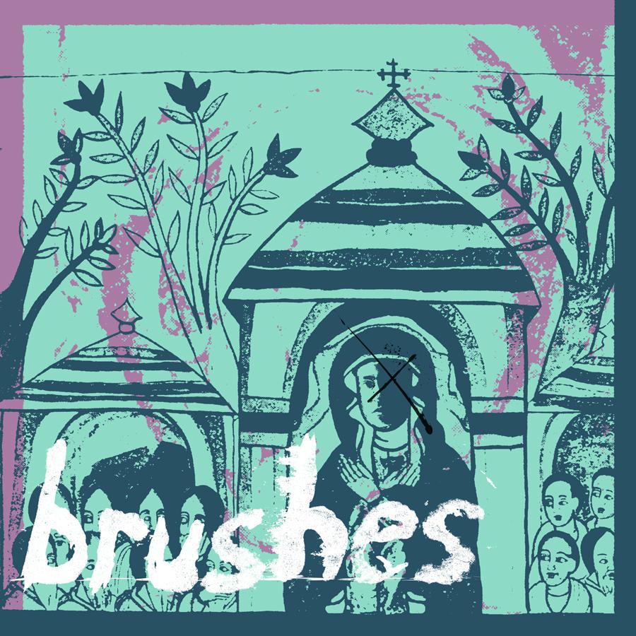 """whatever, again"" by brushes (Album Art)"
