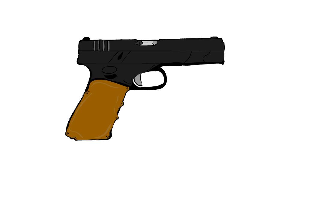 Glock 17 Cartoon