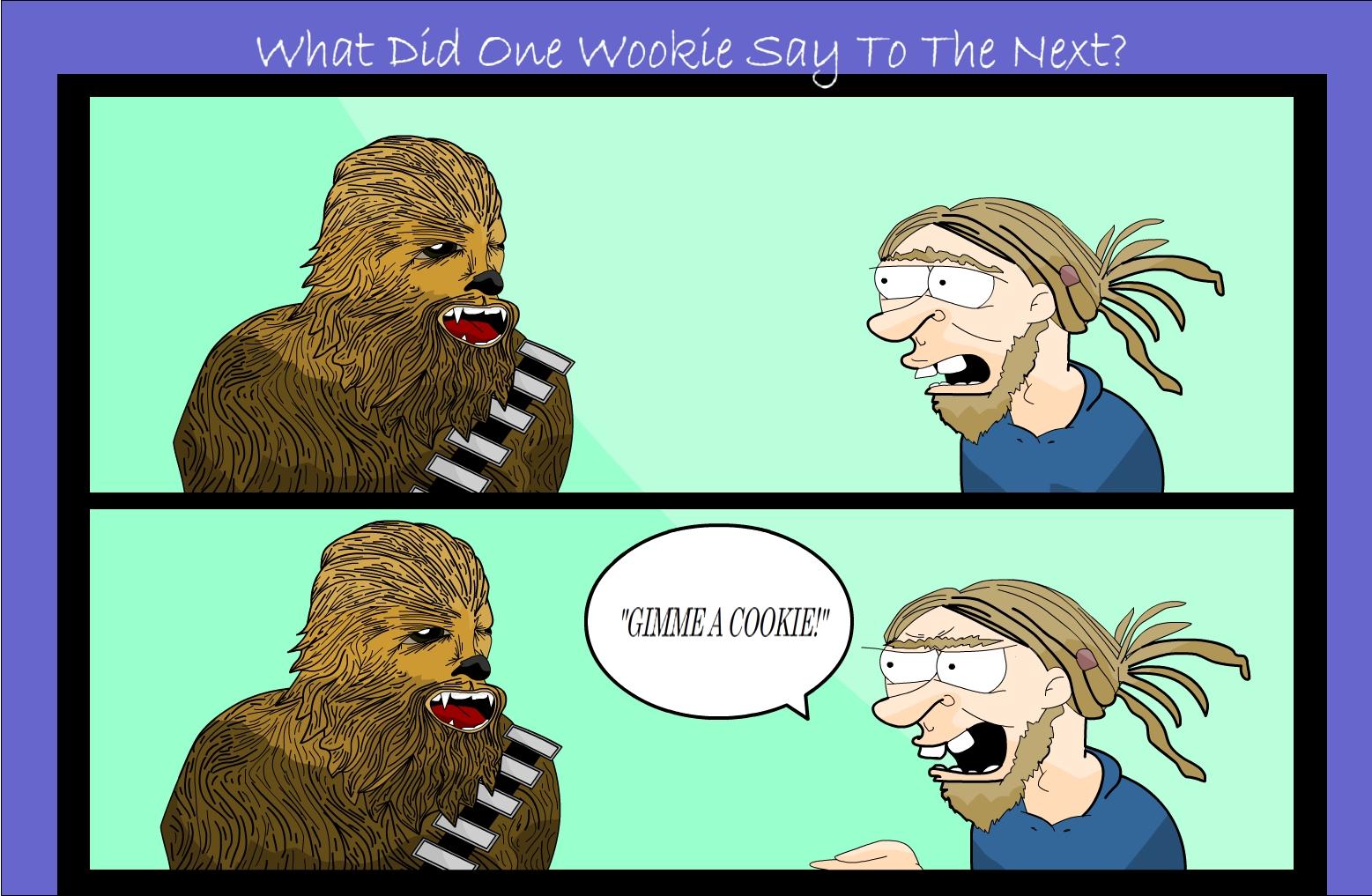 Wookie cookie