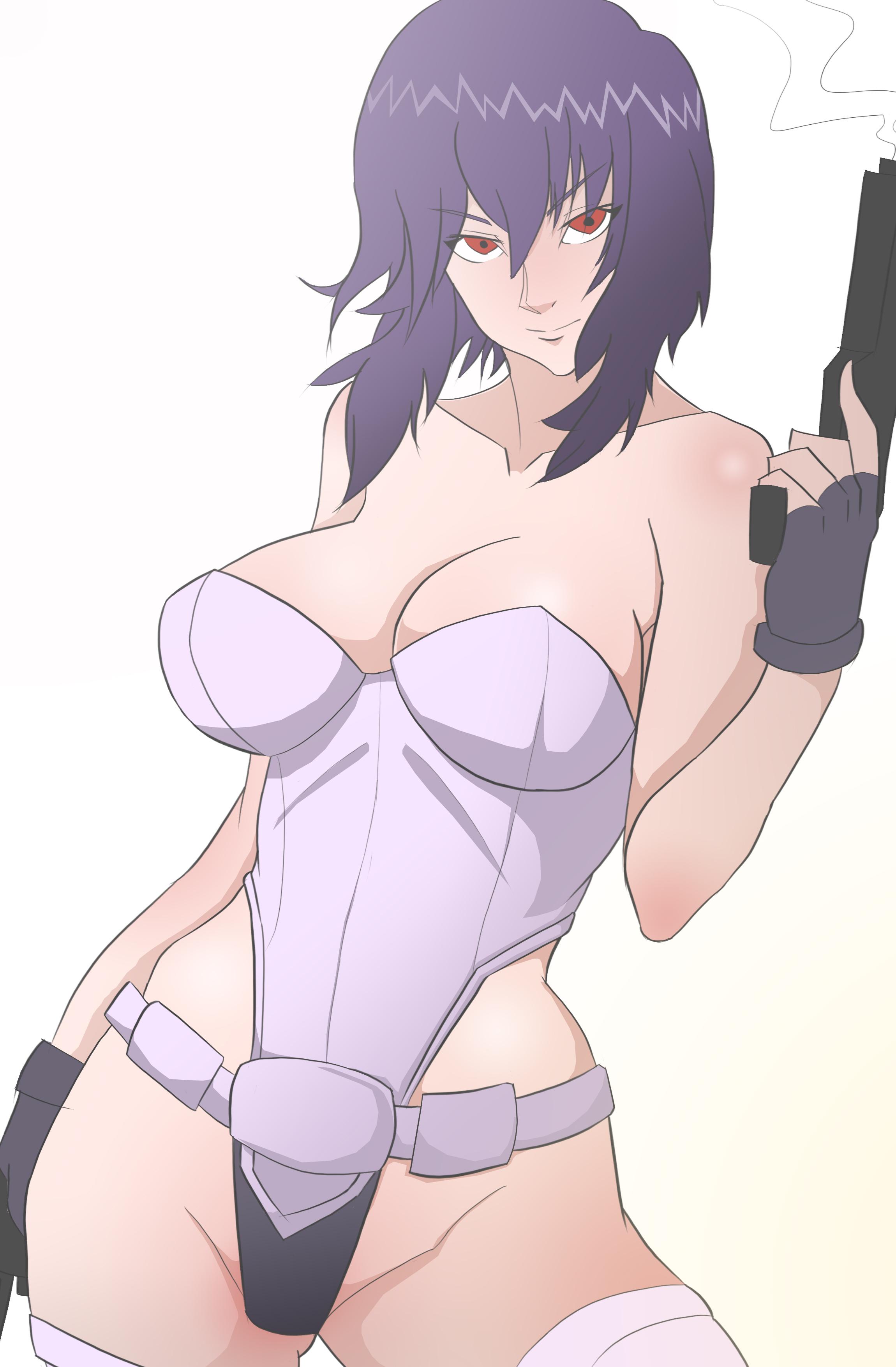 Major Motoko kusanagi