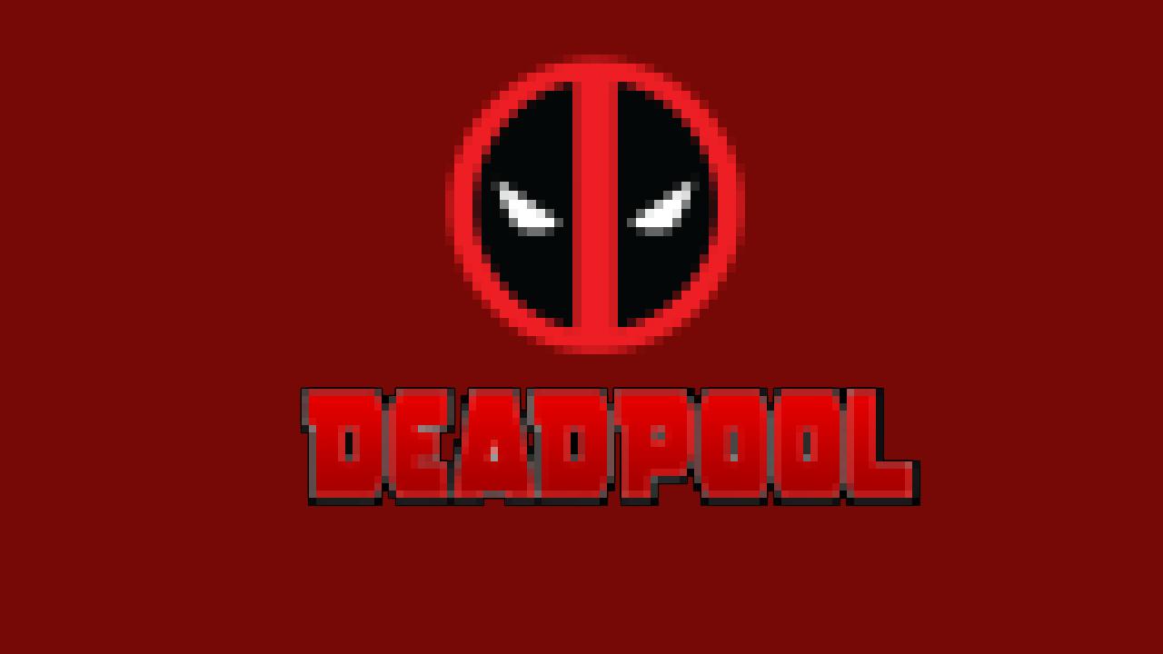 Deadpool Pixel art Wallpaper