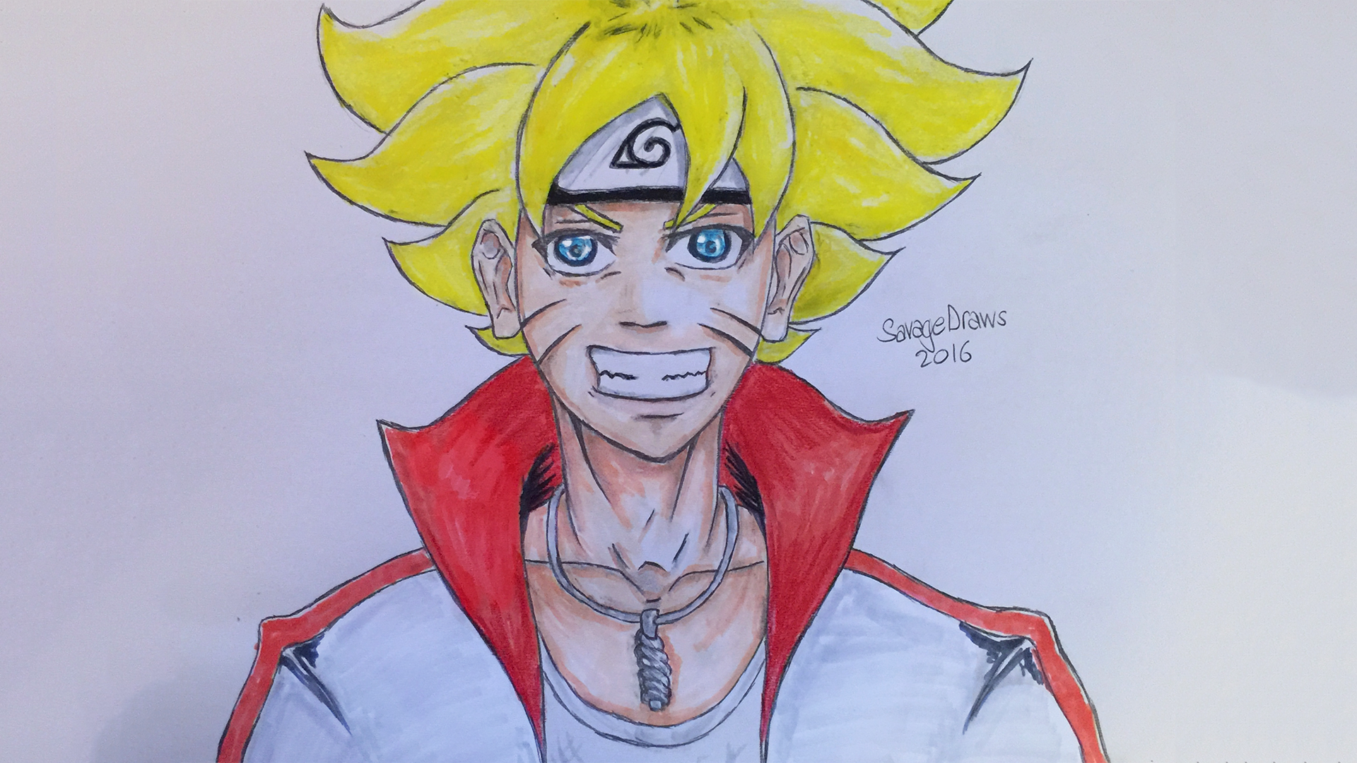 Boruto Uzumaki (Bolt) Drawing