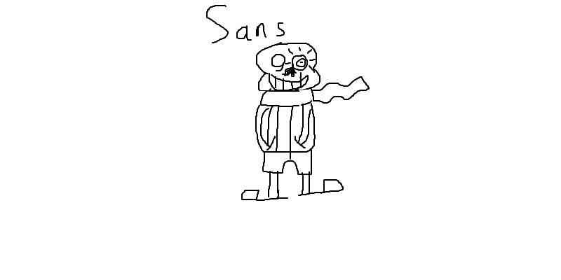 Sans(bad time)