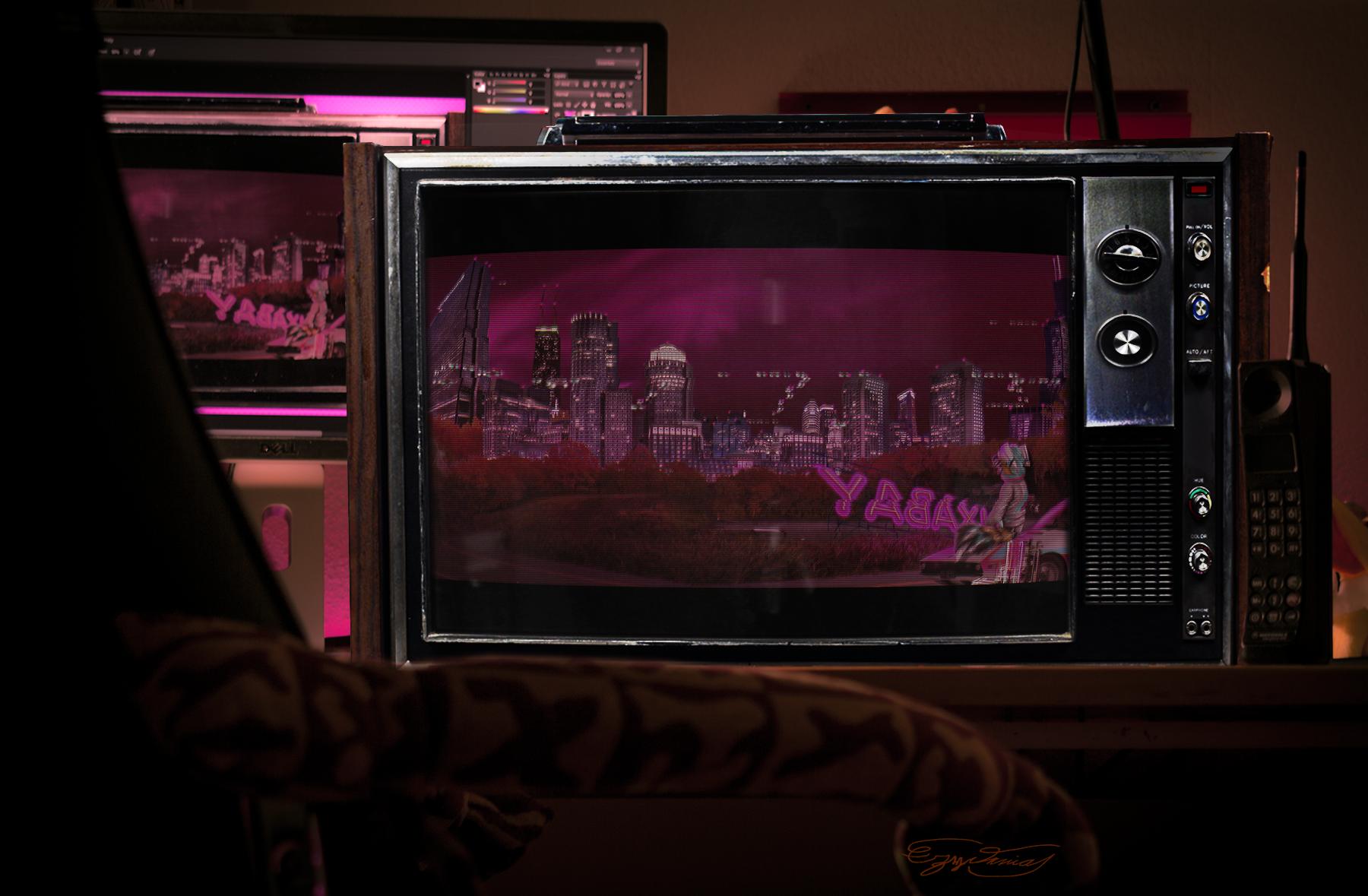 Retro City Night