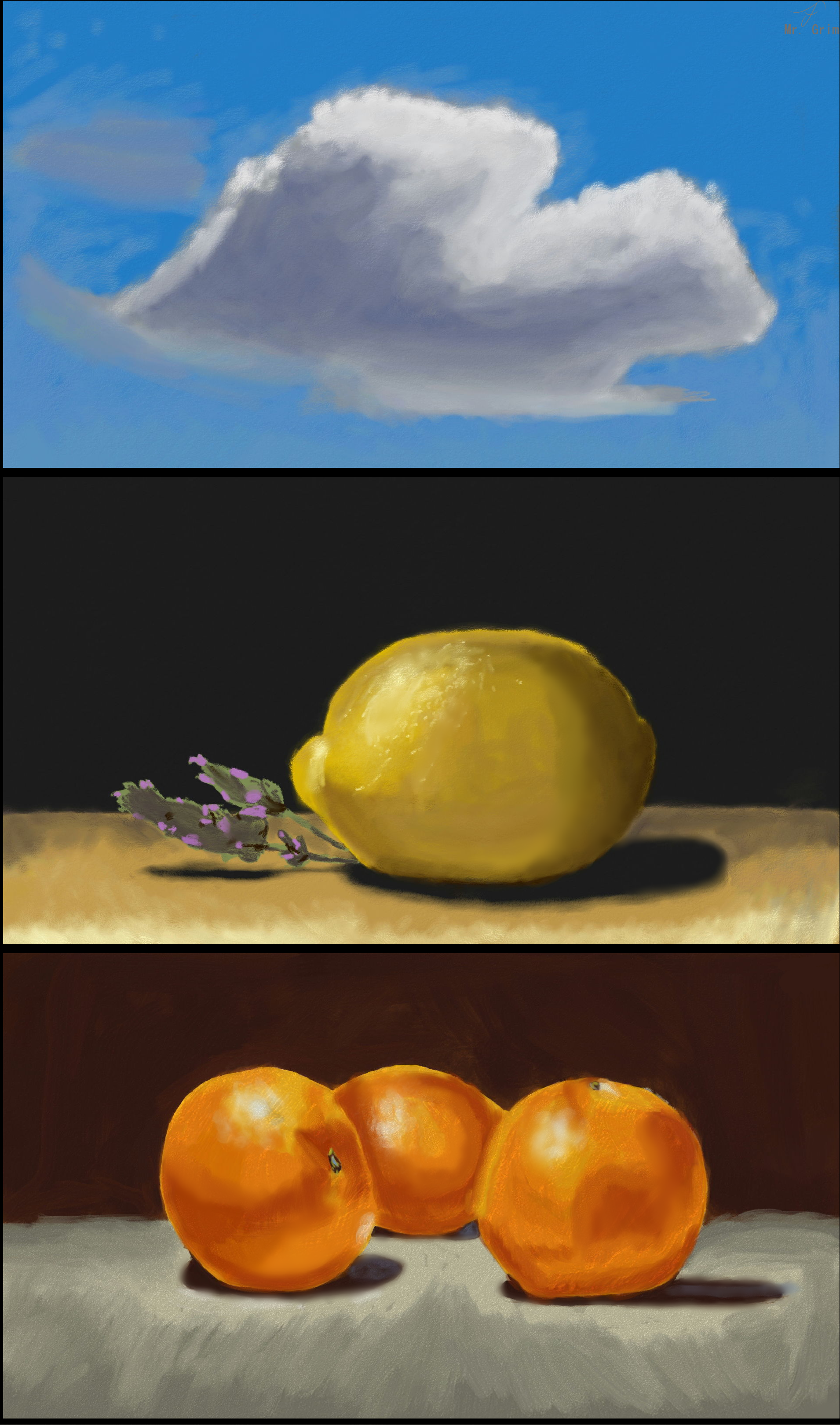 More Still Life Practices