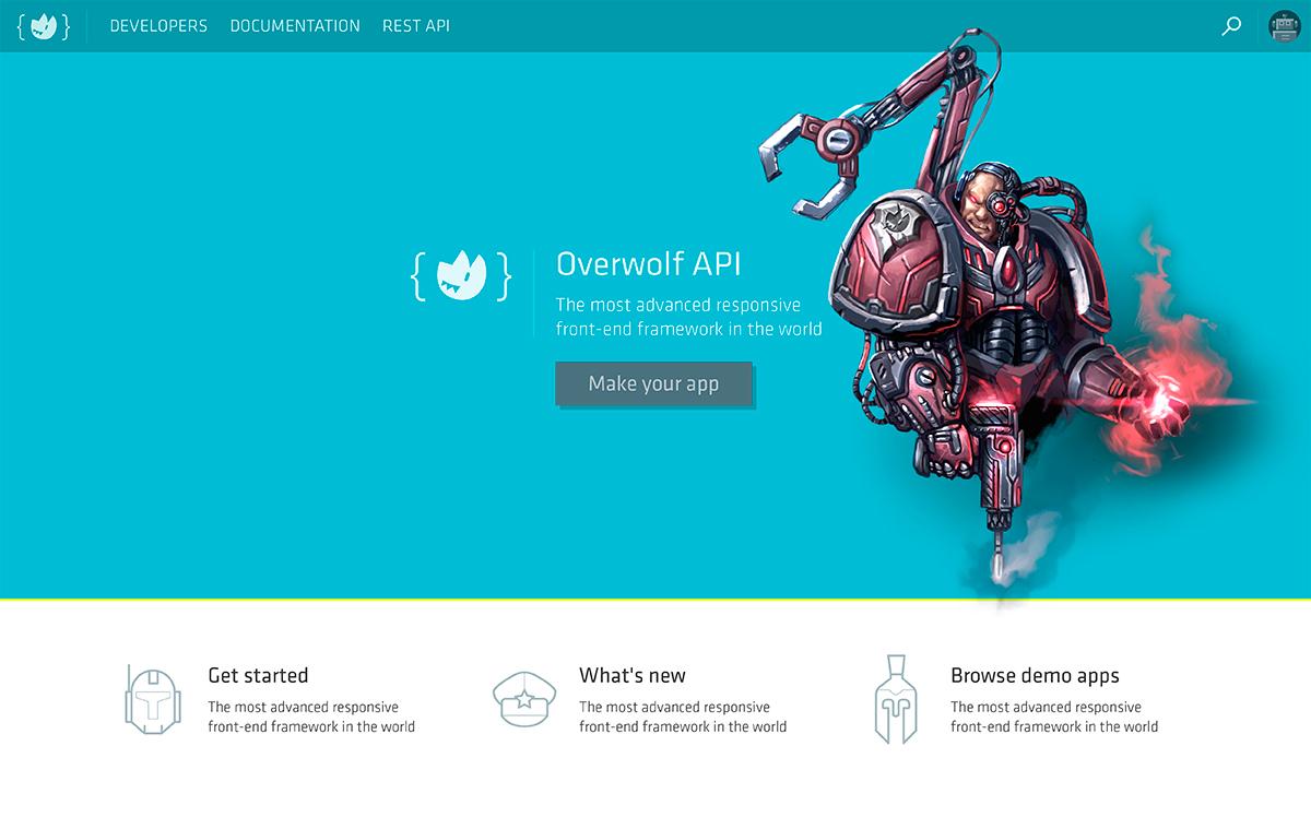Overwolf's Developer Page Illustration