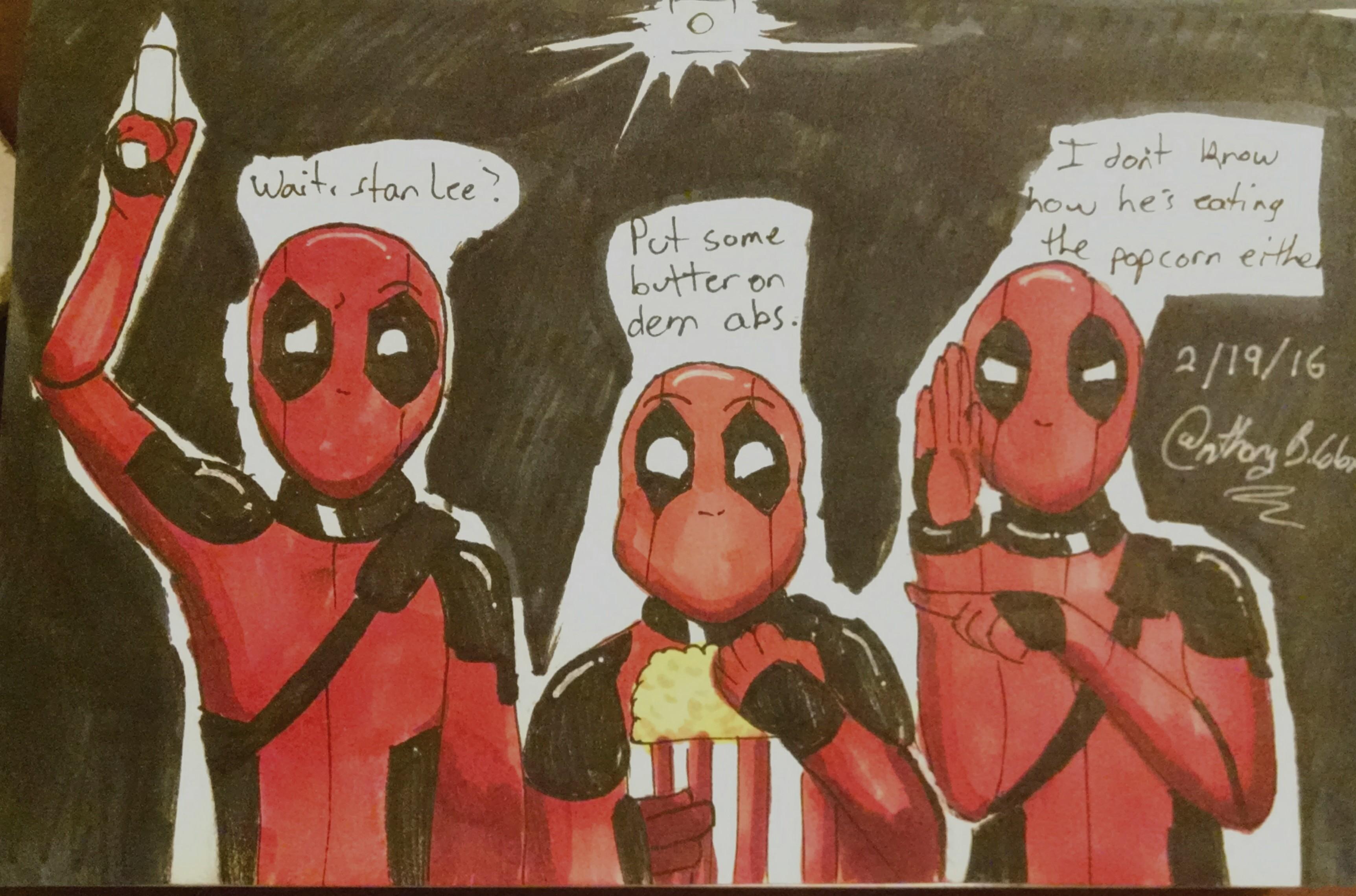 3 Deadpools 4/365