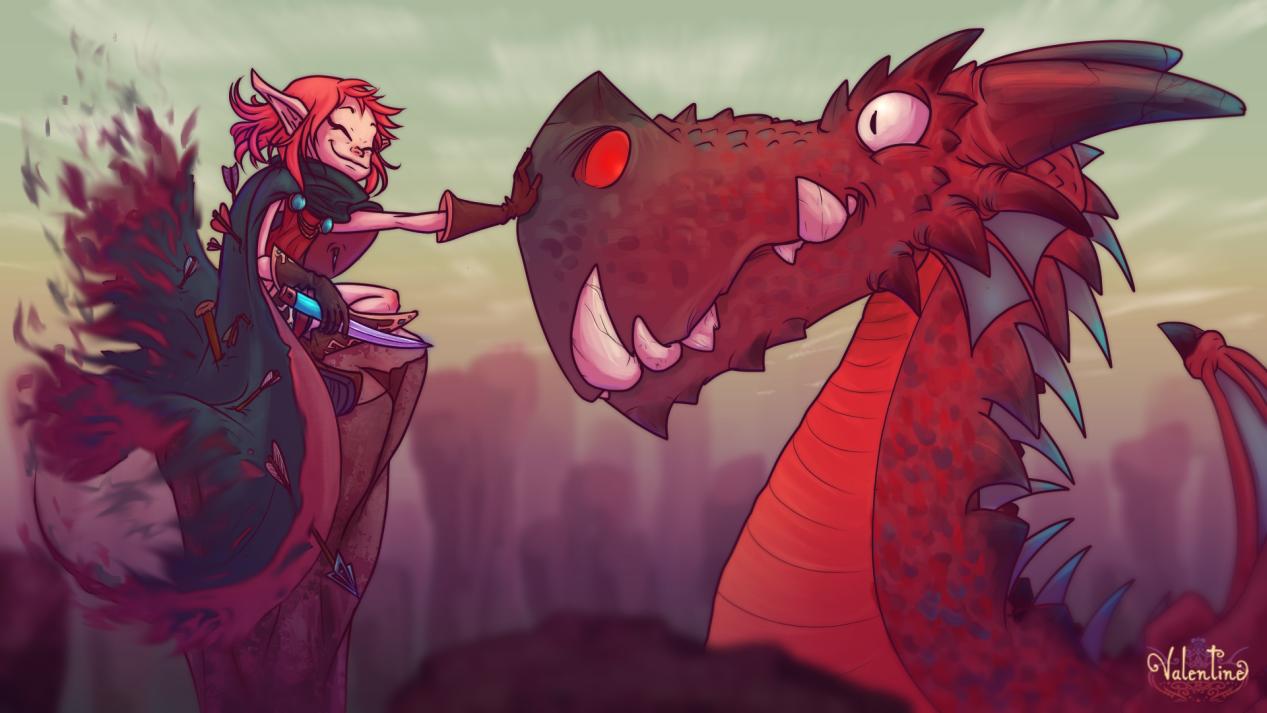 Fairy with Dragon - Cahr generator