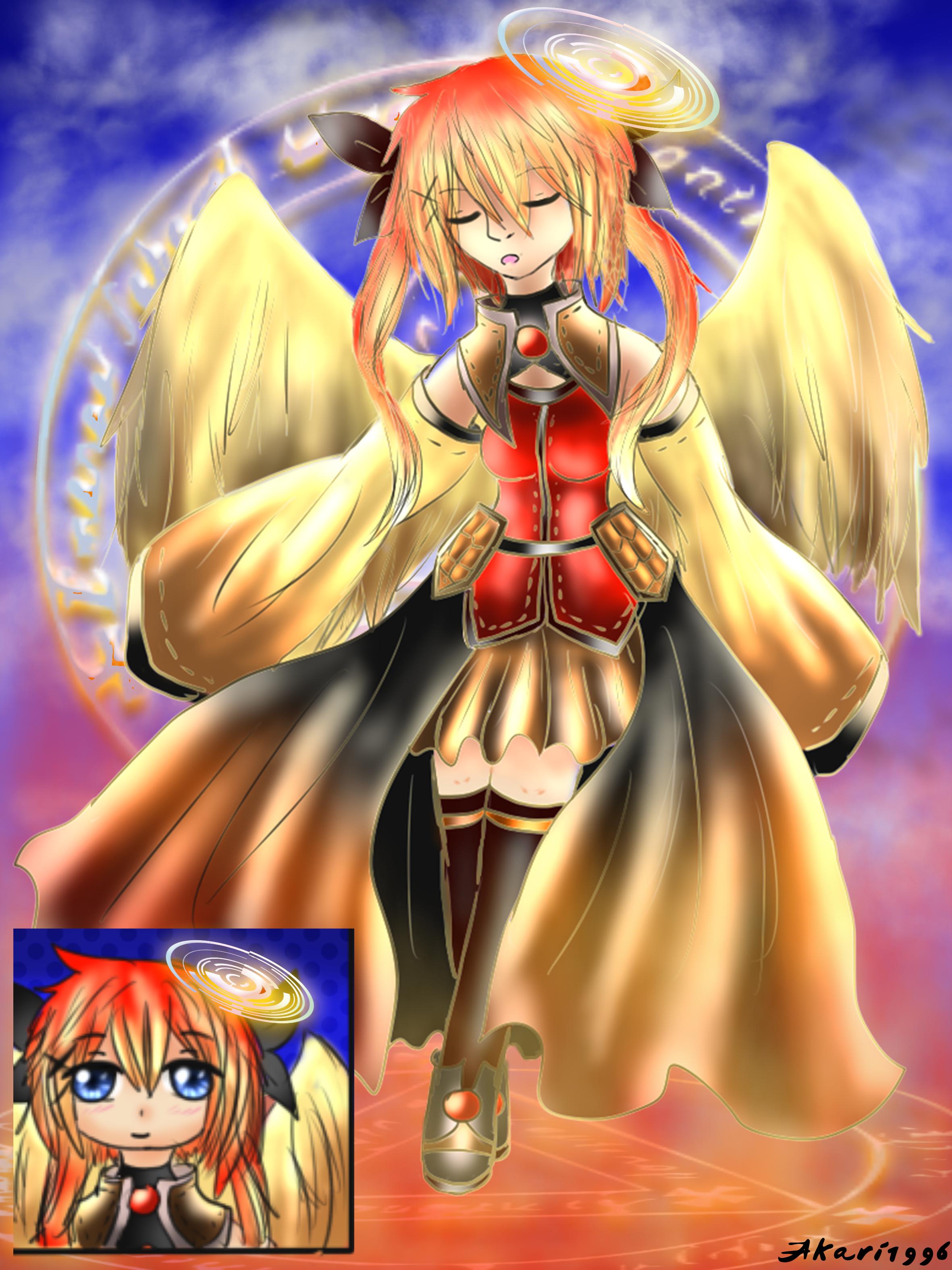 Sunset Angel