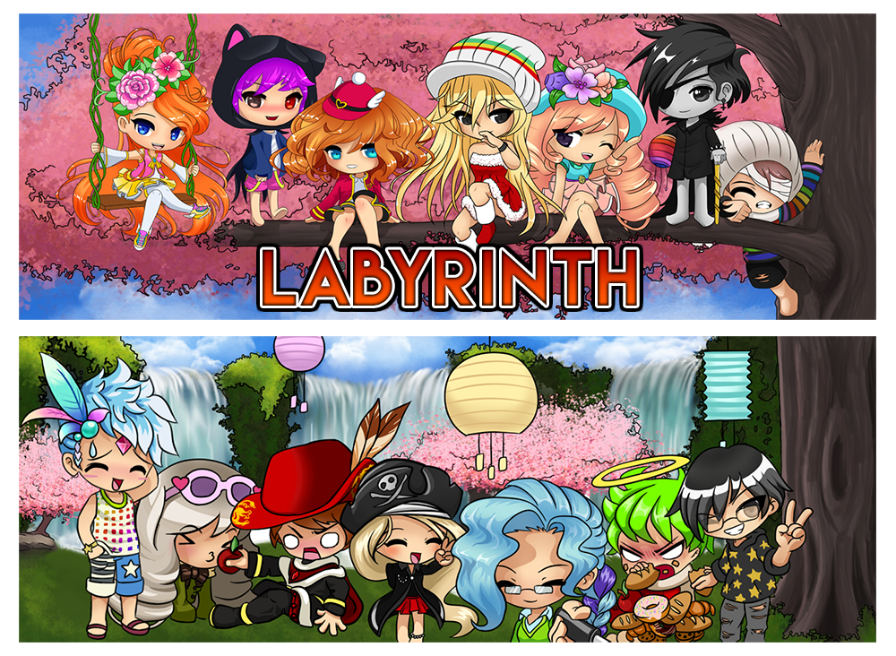 Labyrinth forum banners