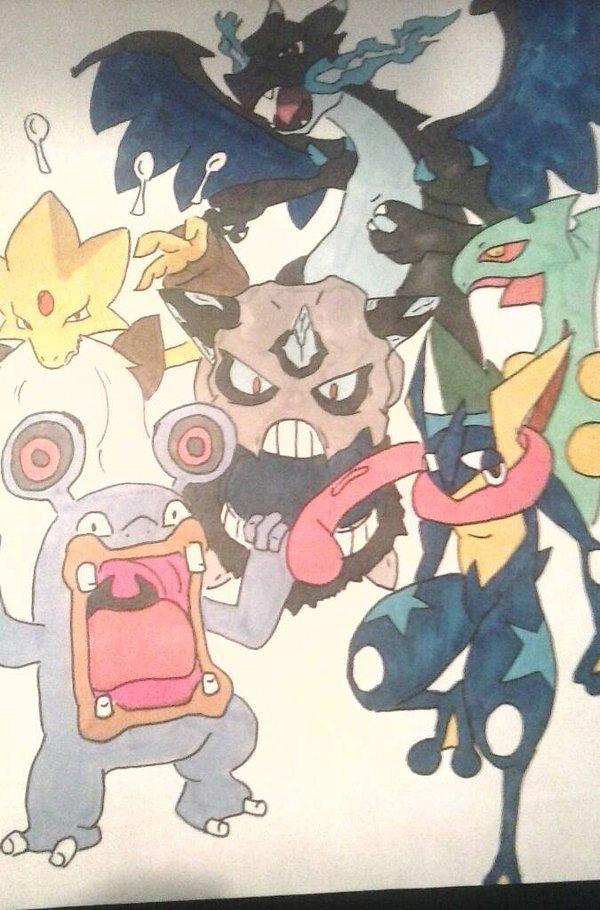 Pokémon team commission 2