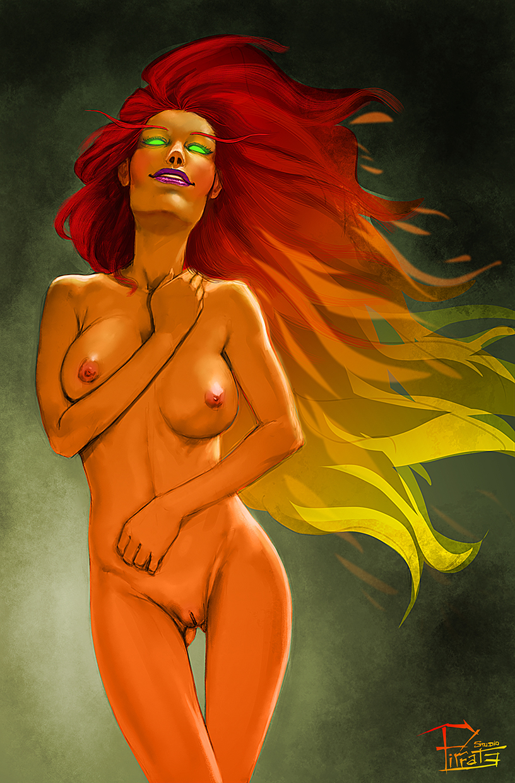 Starfire pinup