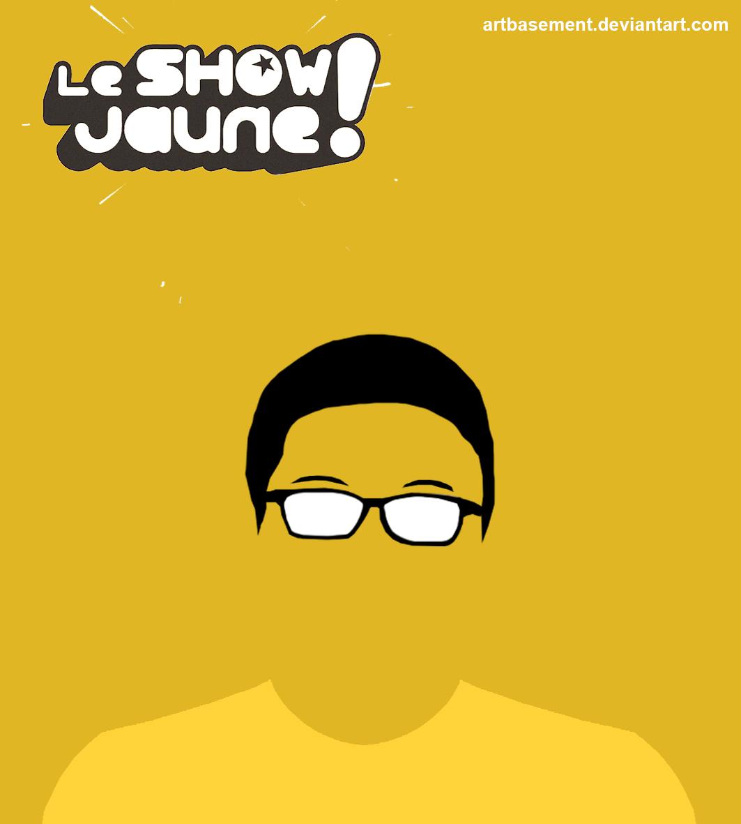 Le Show Jaune - Poster