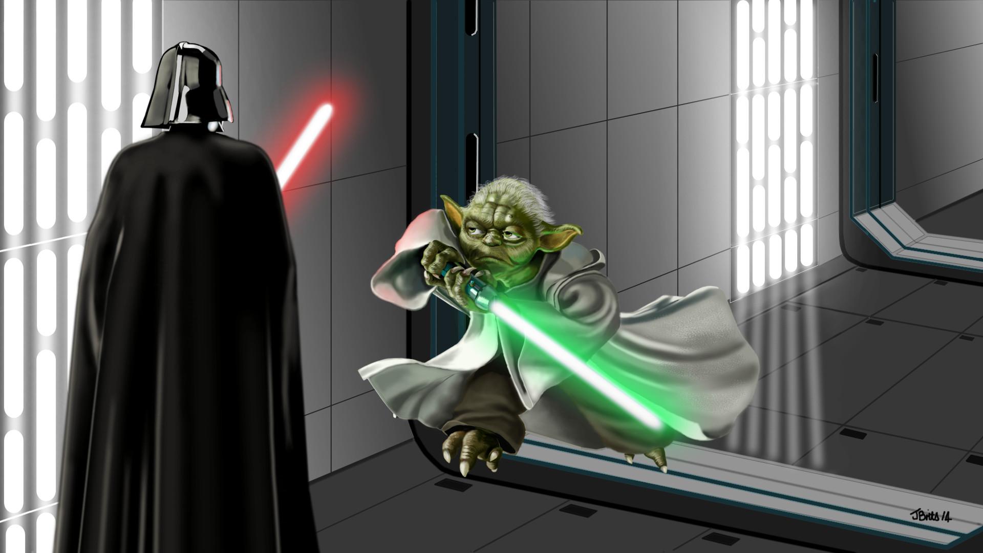 Star Wars Ultimate Battle - Darth Vader vs. Yoda
