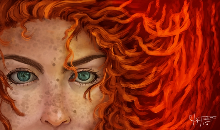 Hair like fire
