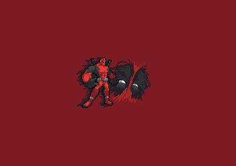 Deadpool Pixelart