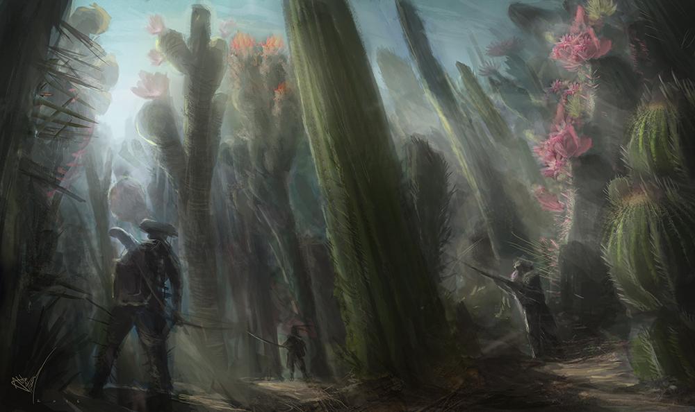 Cactus forest 2