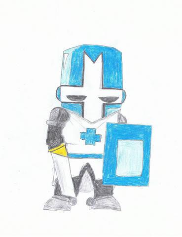 Blue Castle Crasher