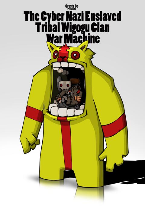 The Cyber Nazi Enslaved...