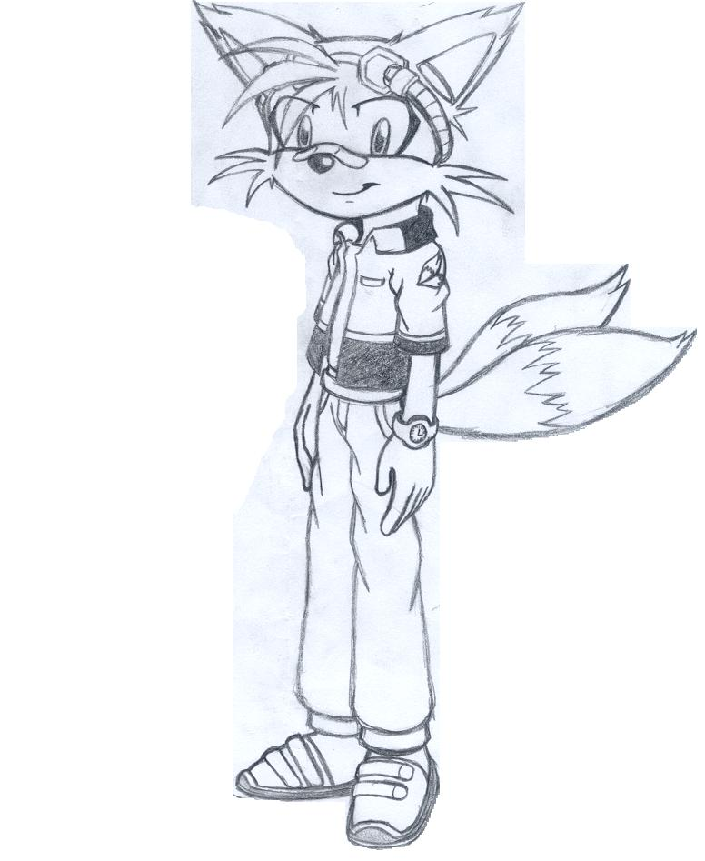 Tails (not coloured)