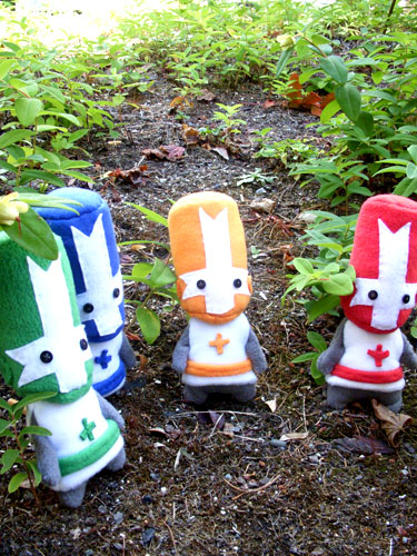 Castle Crashers Plushies