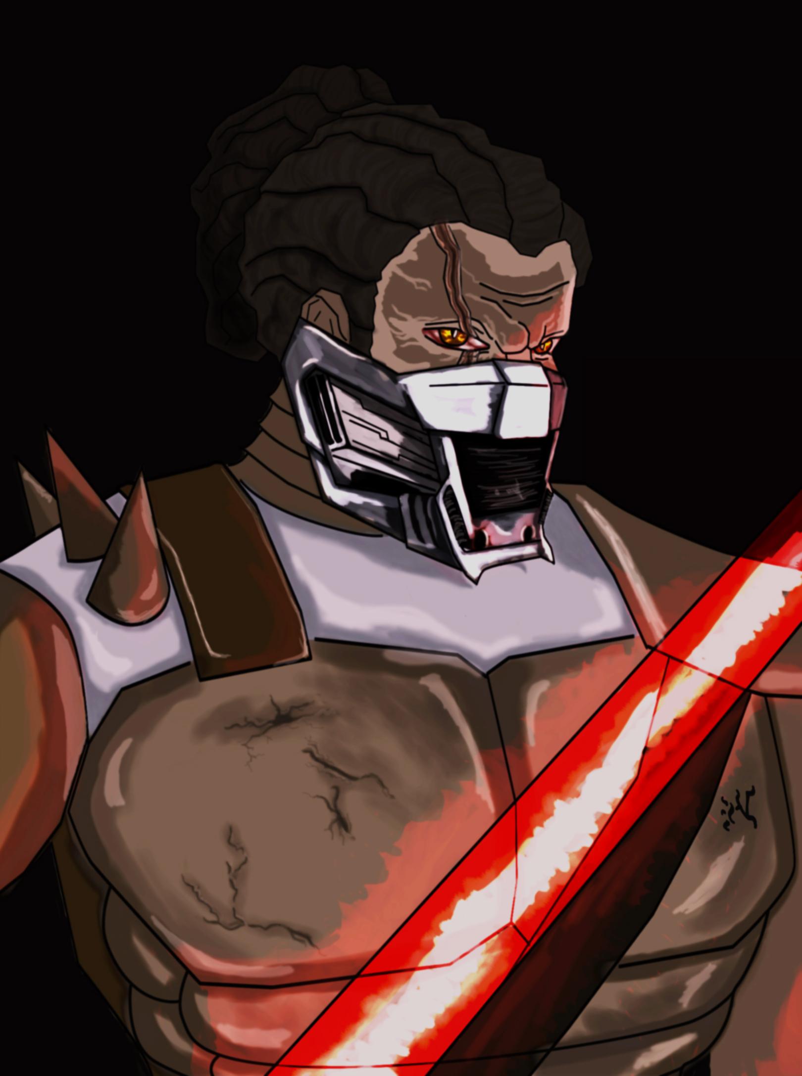 SWTOR-Sith Juggernaut Homage