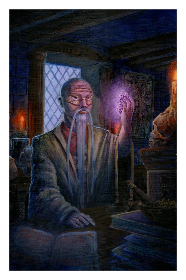 The Alchemist and The Magic Stone