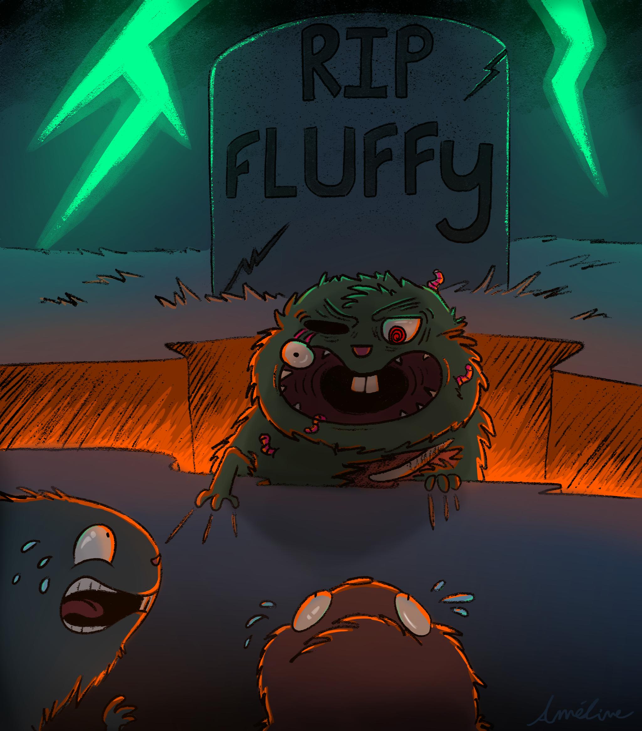 RIP Fluffy