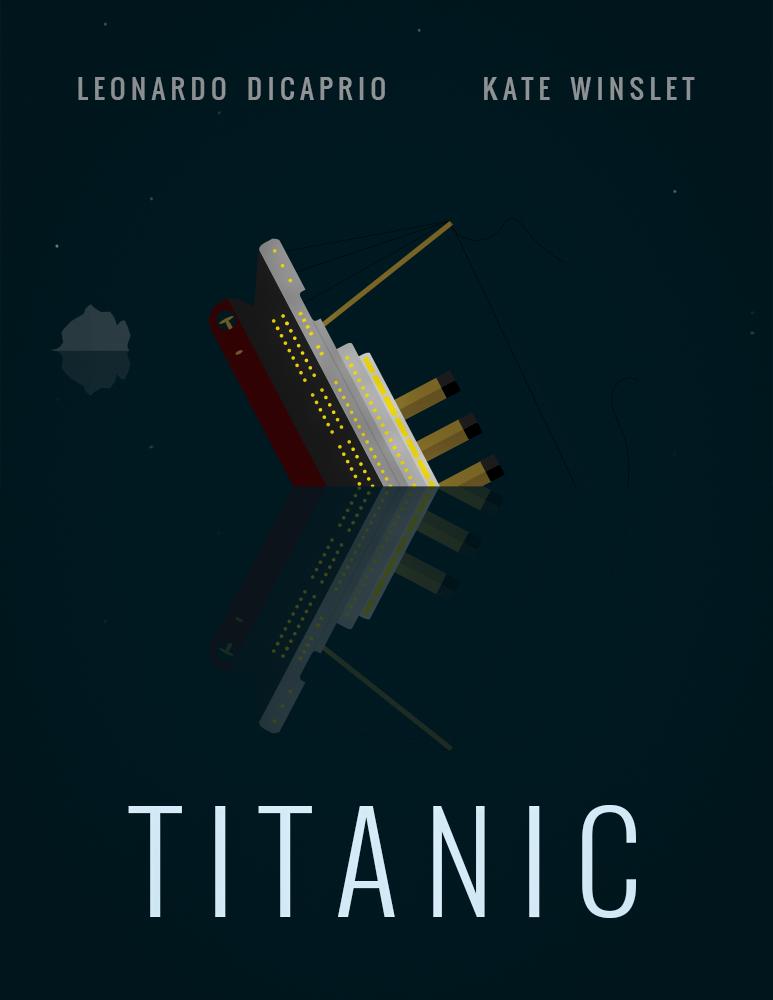 Titanic Flat Art