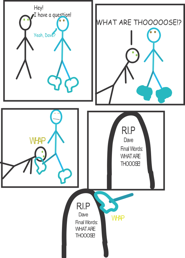 Dumb Deaths 1