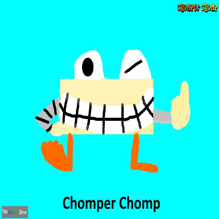 Chomper Chomp Characters- Chomper Chomp