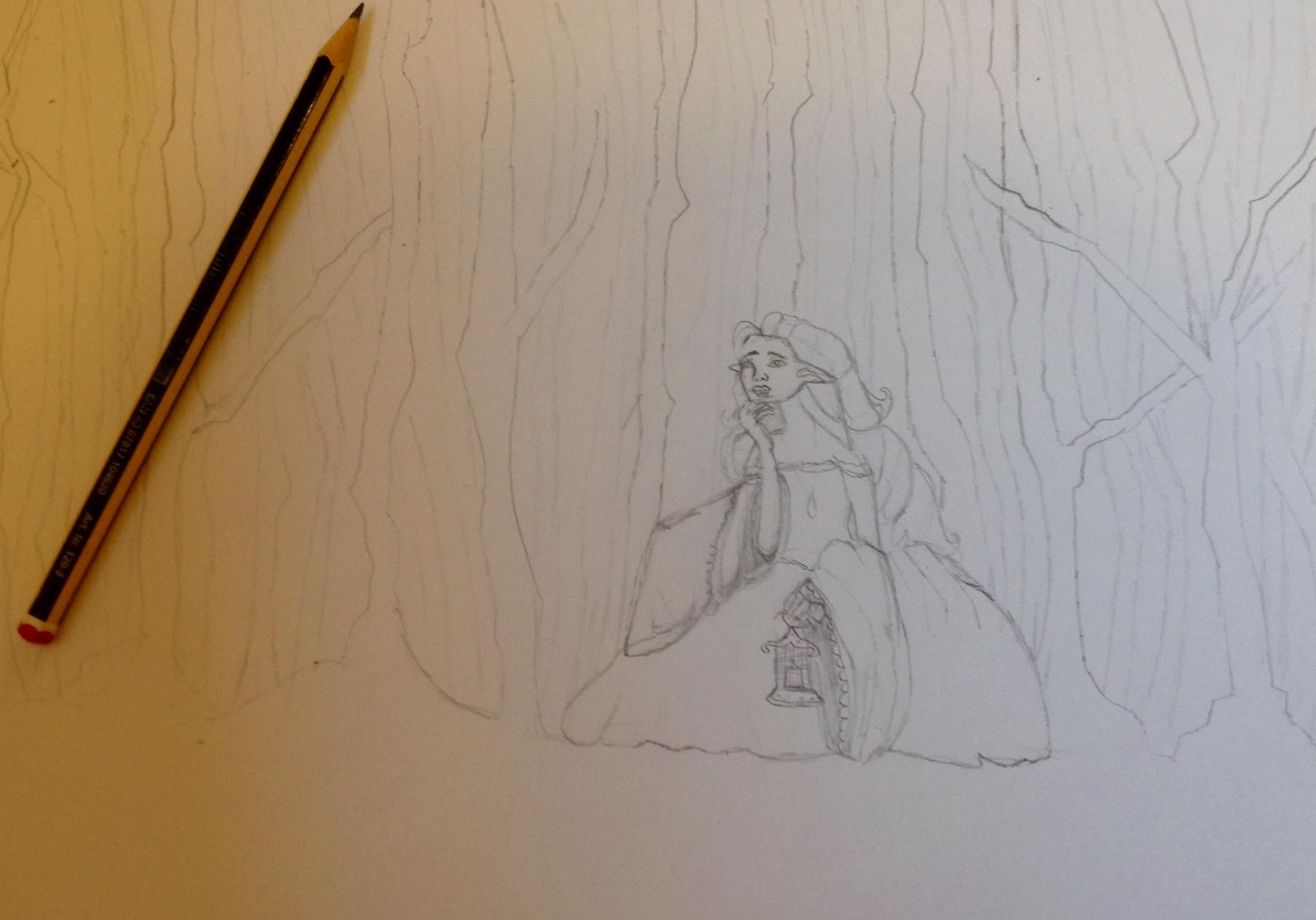 Mid-development Draw With Jazza